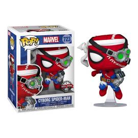 Figurine Marvel - Cyborg Spider-Man Special Edition Pop 10 cm