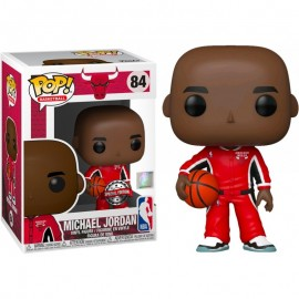 Figurine Sport NBA - Bulls Michael Jordan Red Warm-Ups Special Edition Pop 10cm