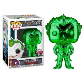 Figurine Batman Arkham Asylum - The Joker Green Chrome Special Edition Pop 10cm