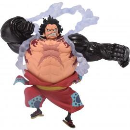 Figurine One Piece - The Monkey.D.Luffy Gear4 Wanokuni King of Artist 15cm