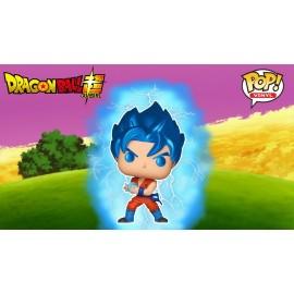 Figurine Dragon Ball Super - SSGSS Goku (Kamehameha) Metallic Special Edition Pop 10cm
