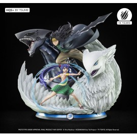 Statue Fairy Tail - Gajeel & Wendy HQS+ by Tsume