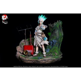 Précommande Statue Dr. Stone - Senku Ishigami Kitsune Statue