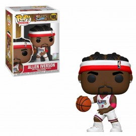 Figurine Basketball Legends - Allen Iverson (Sixers home) Pop 10cm