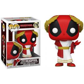 Figurine Marvel - Deadpool 30th - Roman Senator Deadpool Pop 10cm
