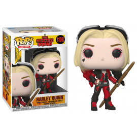 Figurine DC Comics The Suicide Squad - Harley Quinn Bodysuit Pop 10cm