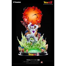 Statue Dragon ball Z - Frieza 4th Form HQS+ by Tsume