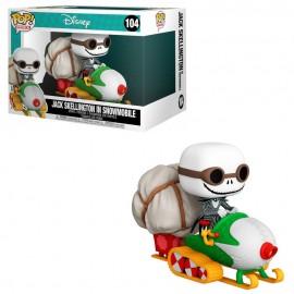 Figurine Nightmare Before Christmas - Jack Skellington in Snowmobile Pop Ride Super Deluxe 15cm