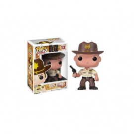 Figurine Walking Dead - Rick Grimes Pop 10cm