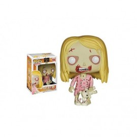 Figurine - Walking Dead - Zombie girl Teddy Bear Pop 10 cm