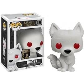 Figurine Game of Thrones - Flocked Ghost SDCC Pop 10cm