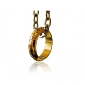 Figurine - Le Seigneur des anneaux - Anneau Unique (Plaqué Or)