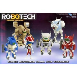 Figurine Robotech - Robotech Mini Figure 30ème Anniversaire - 1 Figurine Aléatoire