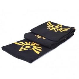 Zelda - Echarpe noir logo / Scarf with logo