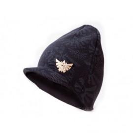 Bonnet - Zelda - Bonnet avec plaque métal - Noir