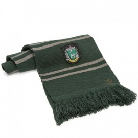 Echarpe Harry Potter Serpentard vert/gris