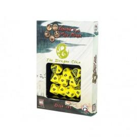 Set de 10 dés - Légende des cinq anneaux - Dragon Clan