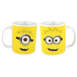 """Mug Minions """"Tête de Minions"""" en porcelaine"""