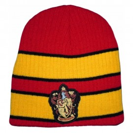 Harry Potter - Beanie with Gryffindor Patch logo