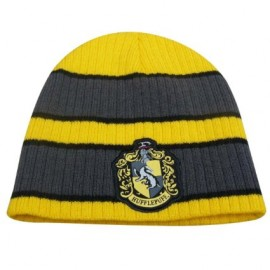 Harry Potter - Beanie with Hufflepuff Patch logo