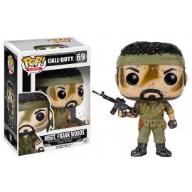 Figurine Call of Duty - Master Sergeant Frank Woods Pop 10cm