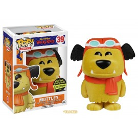 Figurine Hanna Barbera Les fous du Volant - Muttley (Diabolo) Flocked Pop 10cm