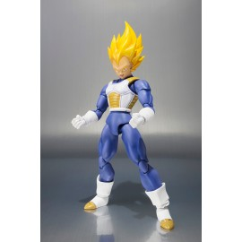 Figurine Dragon Ball Z - Super Saiyan Vegeta Premium Color Edition S.H.Figuarts