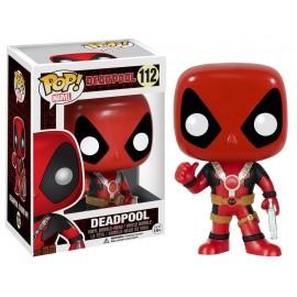 Figurine Marvel - Deadpool Thumb Up Pop 10cm