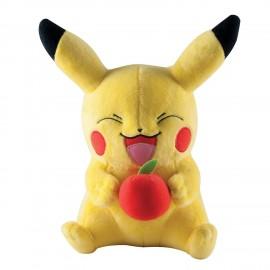 Peluche Pokemon - Pikachu avec Pomme 25cm