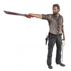 Figurine The Walking Dead - Rick Grimes Vigilante Edition Deluxe 25cm