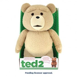 Peluche - Ted Clean Sonore 40cm