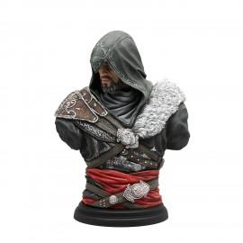 Figurine Assassin's Creed Legacy - Buste Altair Ezio Mentor 19 cm