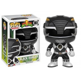 Figurine Power Rangers - Black Ranger - Pop 10 cm