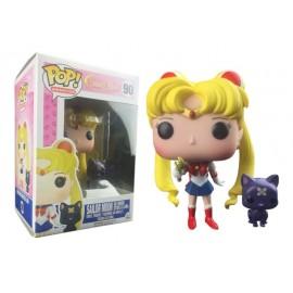 Figurine Sailor Moon - Sailor Moon with Moon Stick Exclu - Pop 10 cm