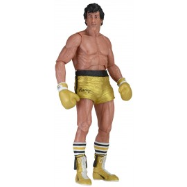 Figurine Rocky III - Rocky Balboa Gold trunks 40th Anniversary 18cm