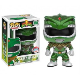 Figurine Power Rangers - Green Ranger Metallic NYCC 2016 Pop 10 cm