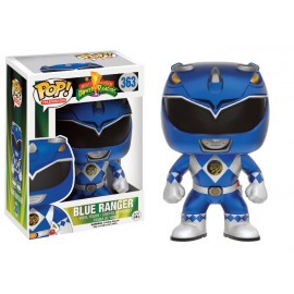Figurine Power Rangers - Blue Ranger Metallic Exclusive Pop 10 cm