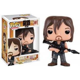 Figurine The Walking Dead - Daryl Dixon with Rocket Launcher Pop 10cm