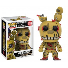 Figurine Five Nights at Freddy's - Springtrap Pop 10cm
