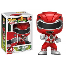 Figurine Power Rangers - Action Red Ranger Pop 10 cm